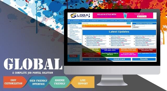 Global WordPress Theme For Job Portal