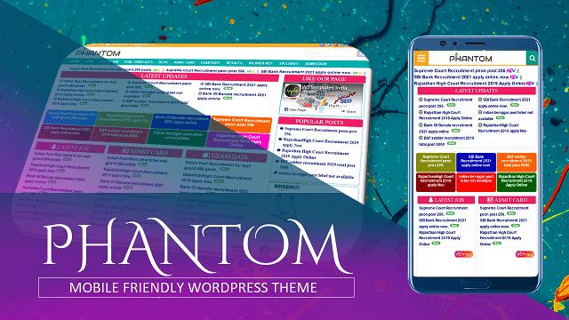 Phantom WordPress Theme For Job Website